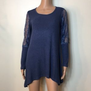 Premise new asymmetrical woman blouse size S